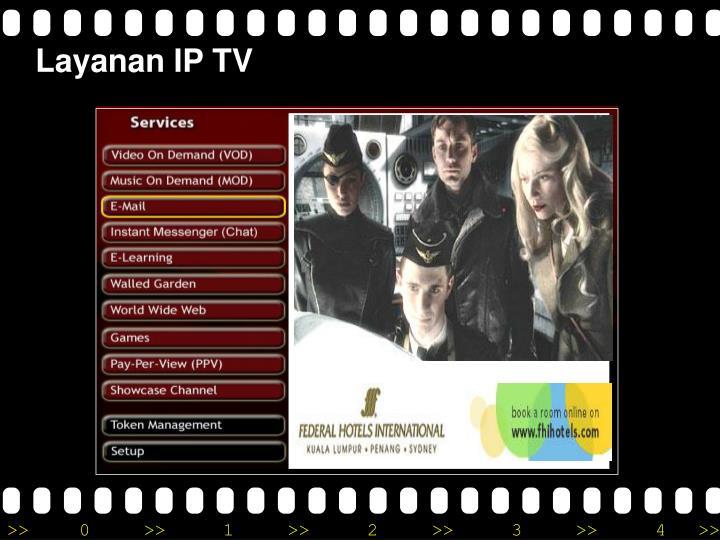Layanan IP TV