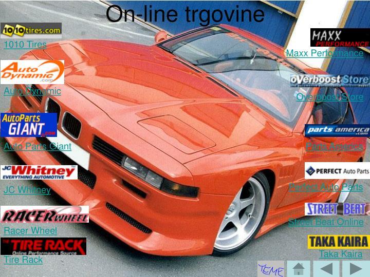 On-line trgovine