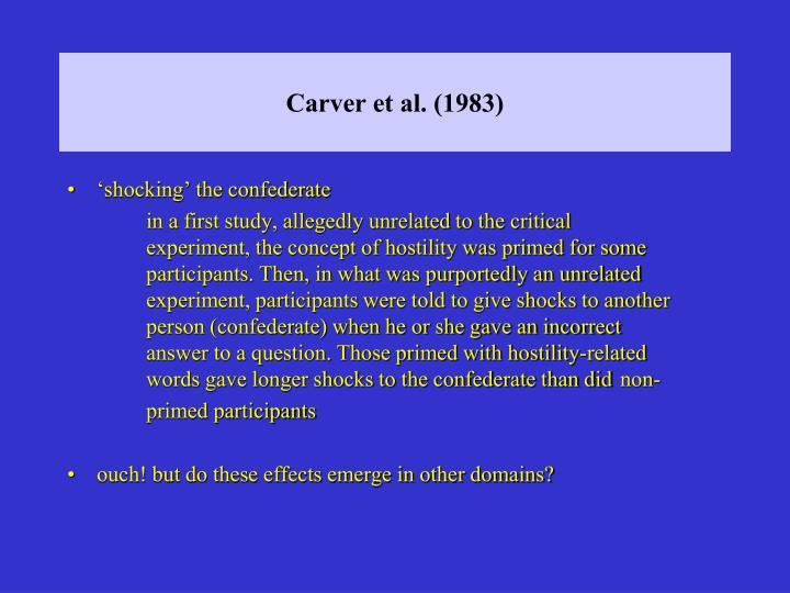 Carver et al. (1983)