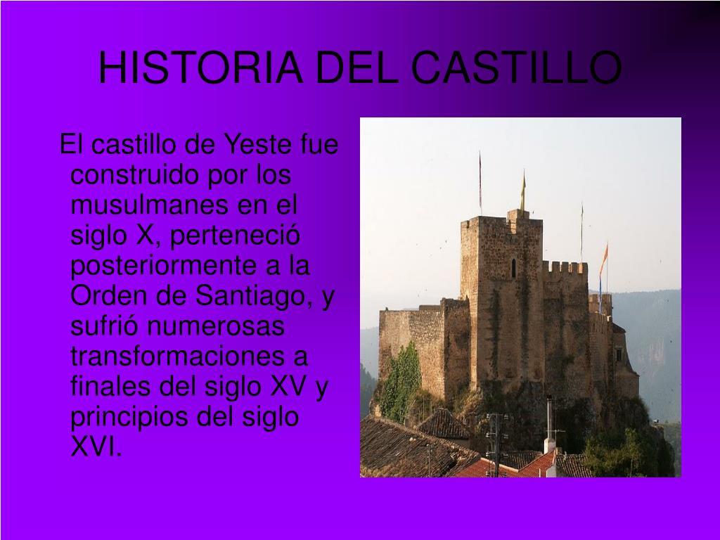 HISTORIA DEL CASTILLO