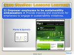 case studies lessons learned2