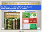 case studies lessons learned4
