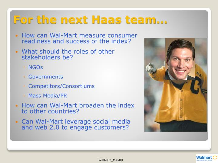 For the next Haas team…