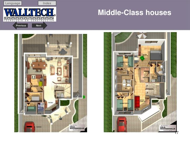 Middle-Class houses