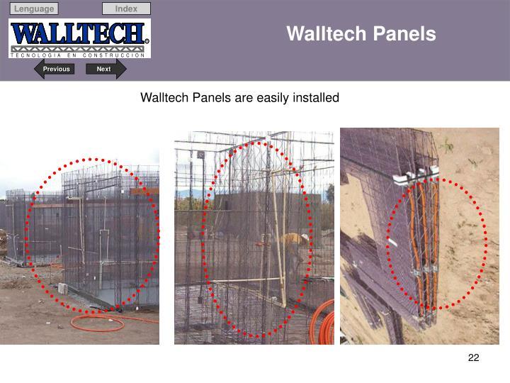 Walltech Panels