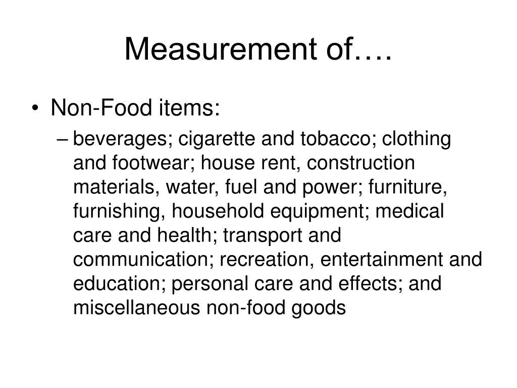 Measurement of….