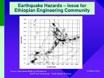 earthquake hazards issue for ethiopian engineering community5