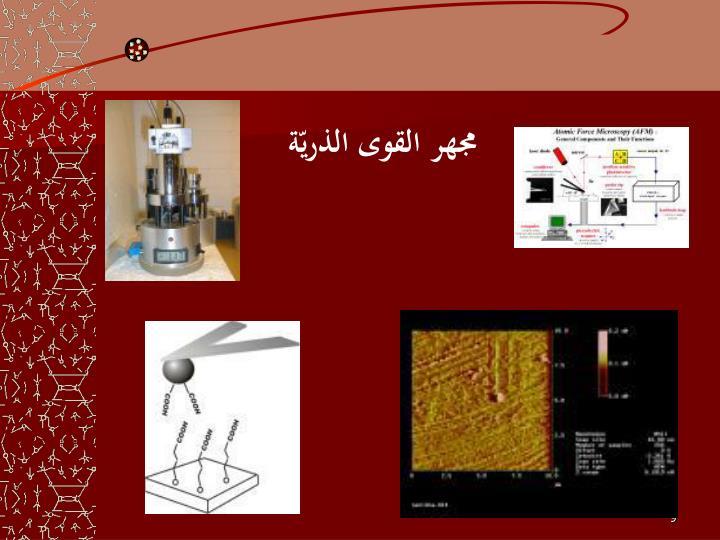 مجهر القوى الذريّة