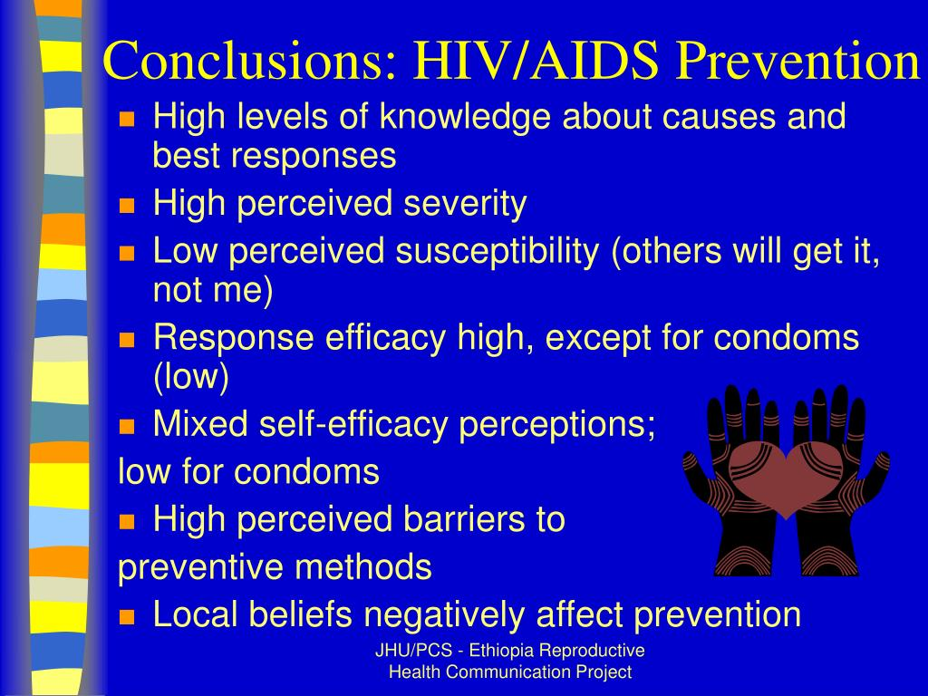 Conclusions: HIV/AIDS Prevention