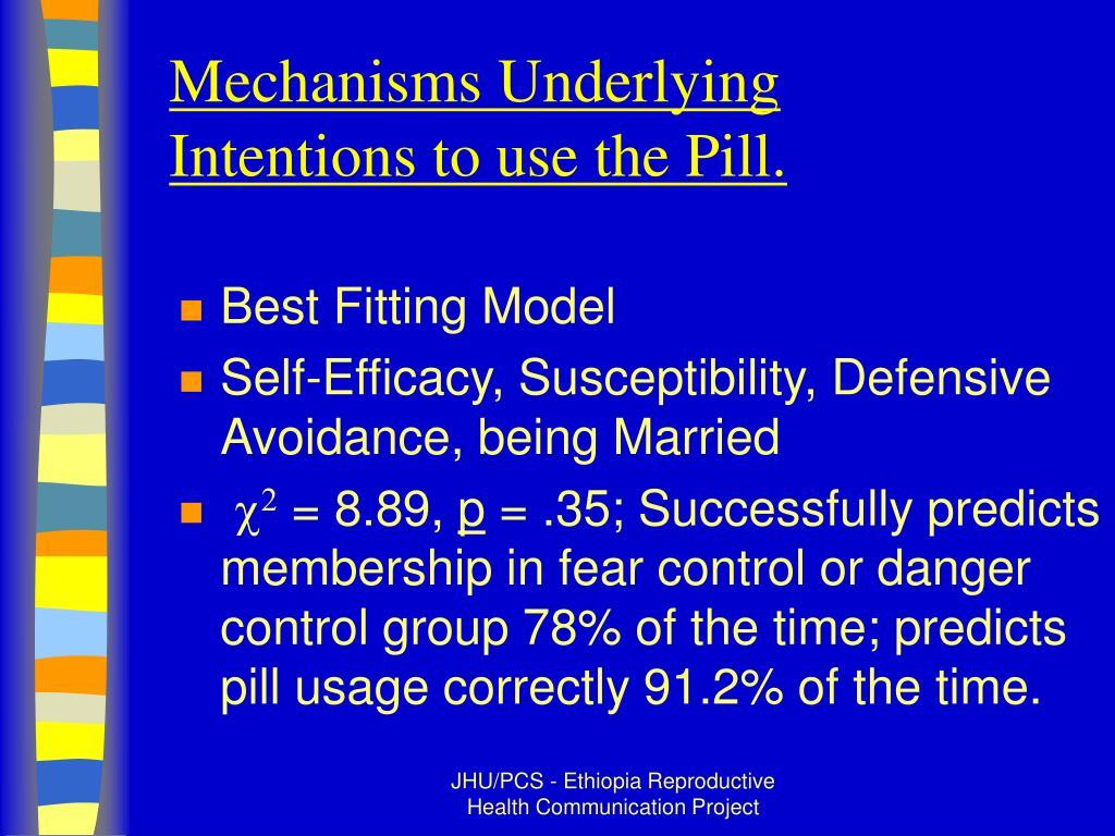 Mechanisms Underlying