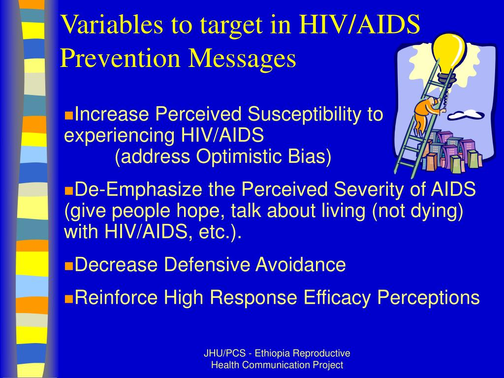Variables to target in HIV/AIDS Prevention Messages