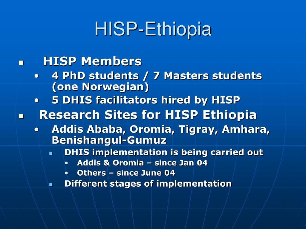 HISP-Ethiopia