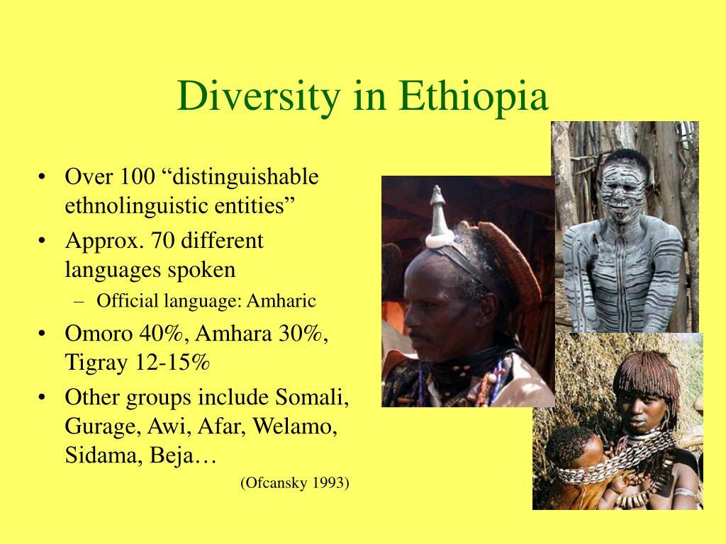 Diversity in Ethiopia