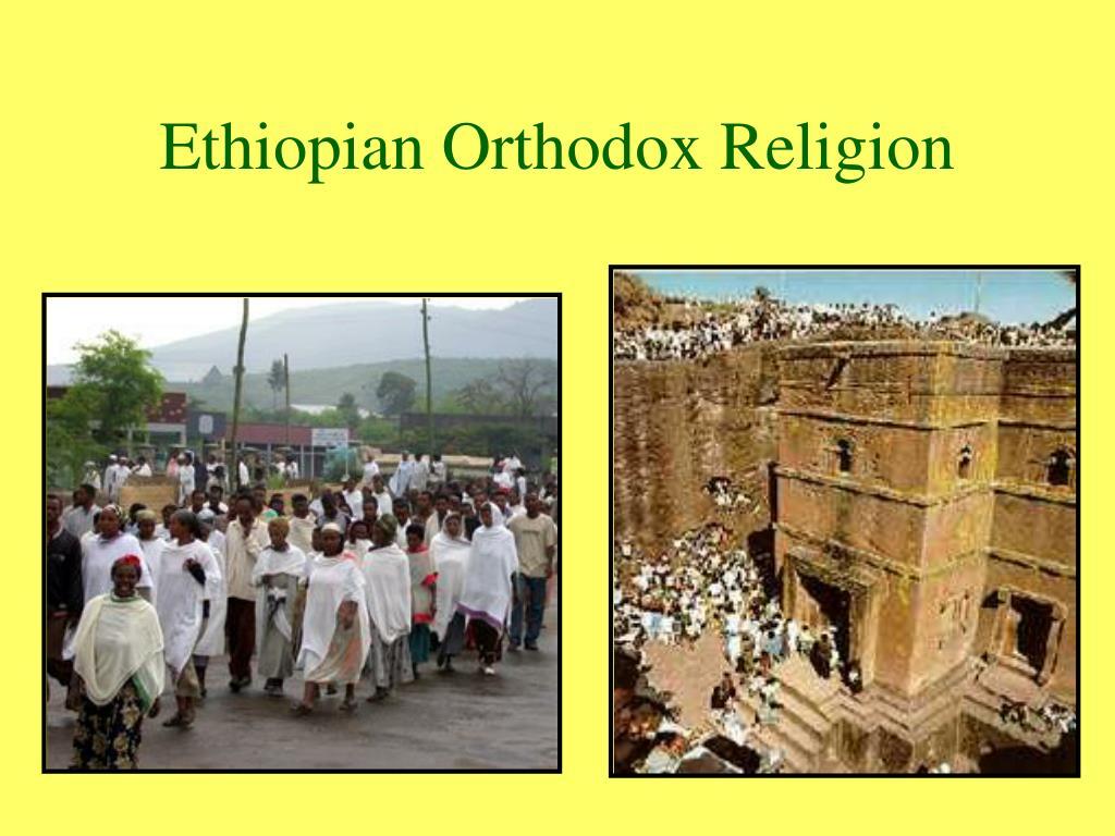 Ethiopian Orthodox Religion