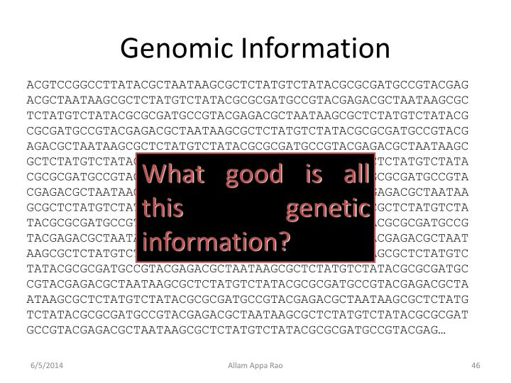 Genomic Information