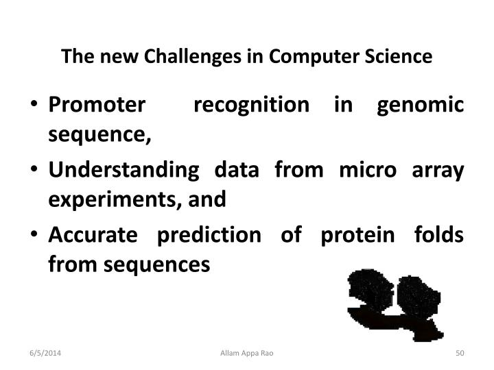 The new Challenges in Computer Science