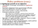 policy problems cont19
