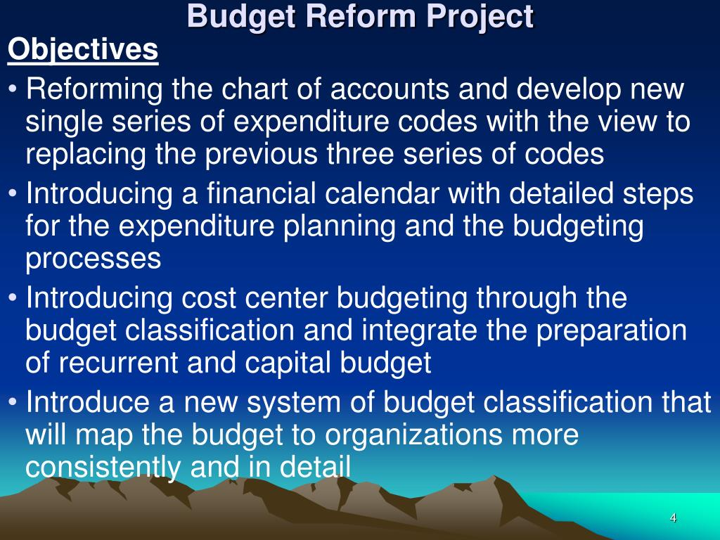 Budget Reform Project