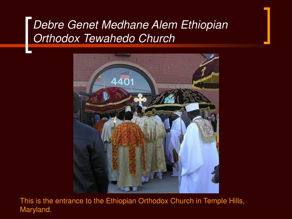 Debre Genet Medhane Alem Ethiopian Orthodox Tewahedo Church