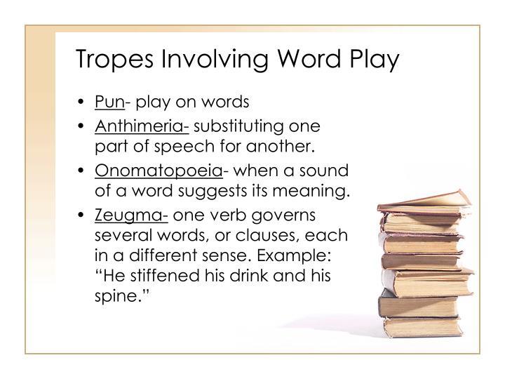 Tropes Involving Word Play