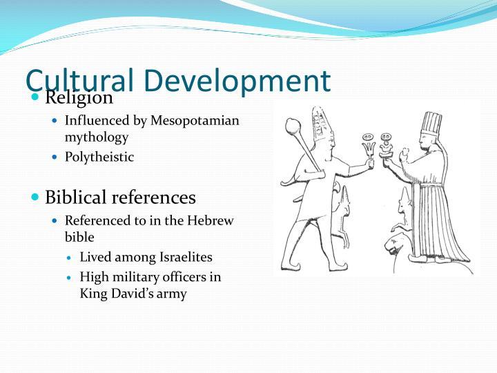 Cultural Development