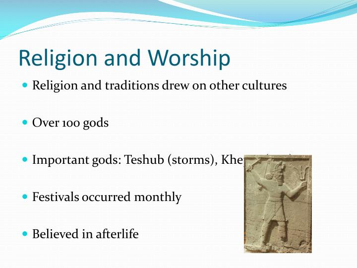 Religion and Worship