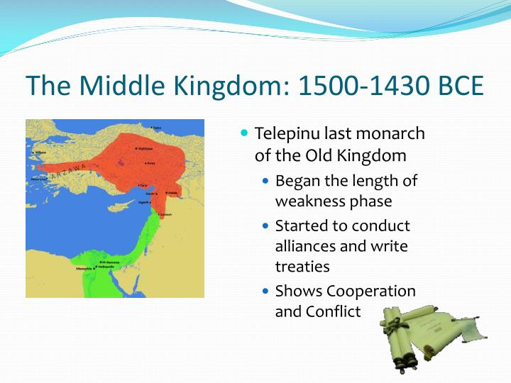 The Middle Kingdom: 1500-1430 BCE