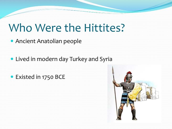 Who were the hittites