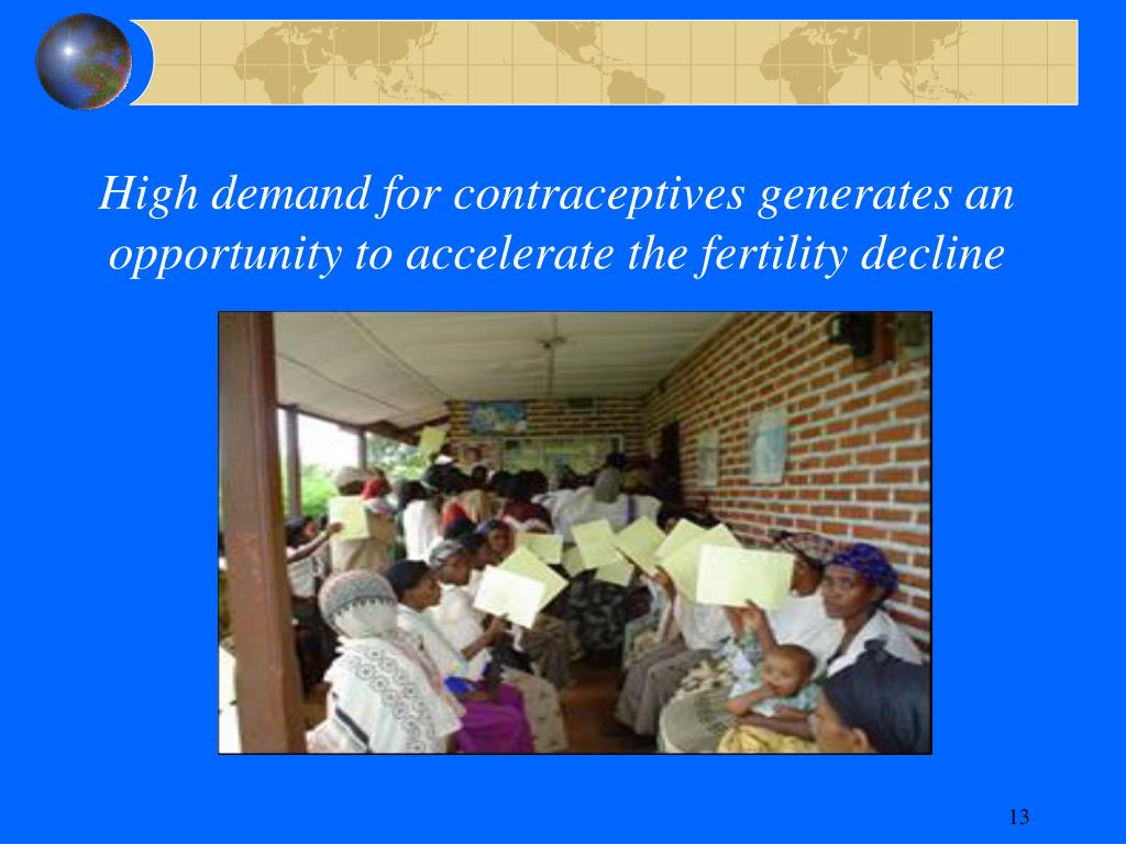 High demand for contraceptives generates an opportunity to accelerate the fertility decline
