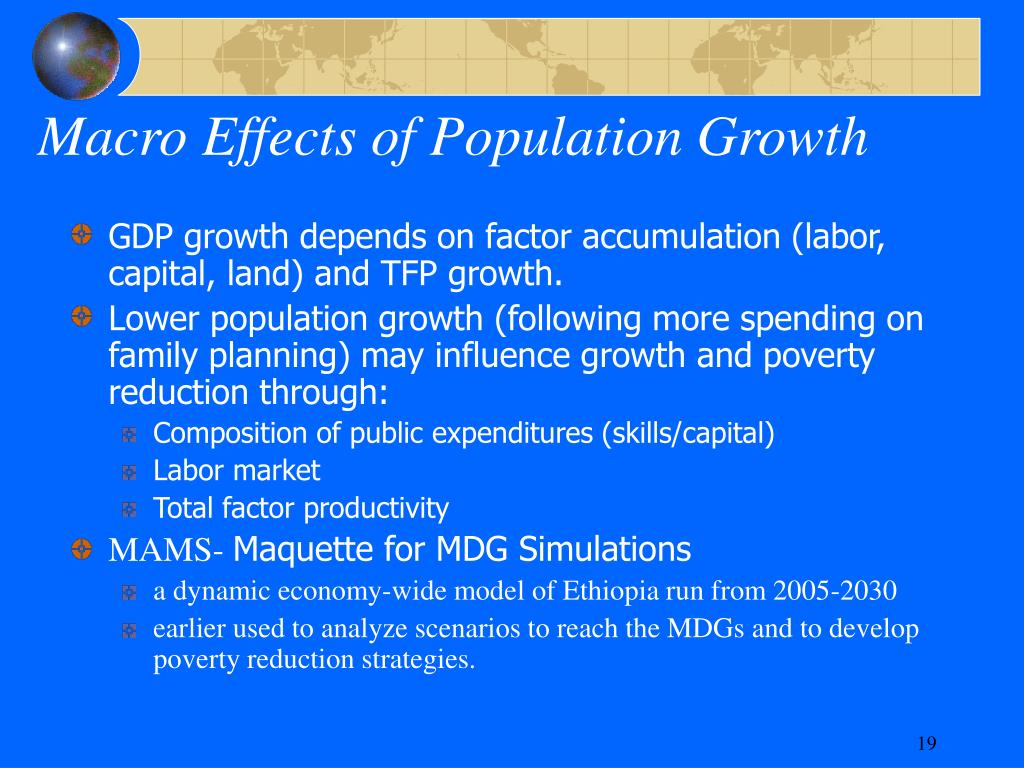 Macro Effects of Population Growth