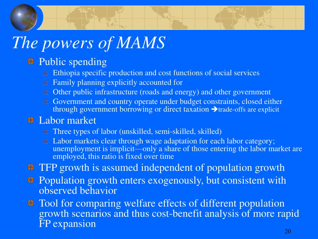 The powers of MAMS