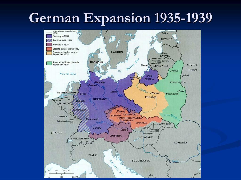German Expansion 1935-1939
