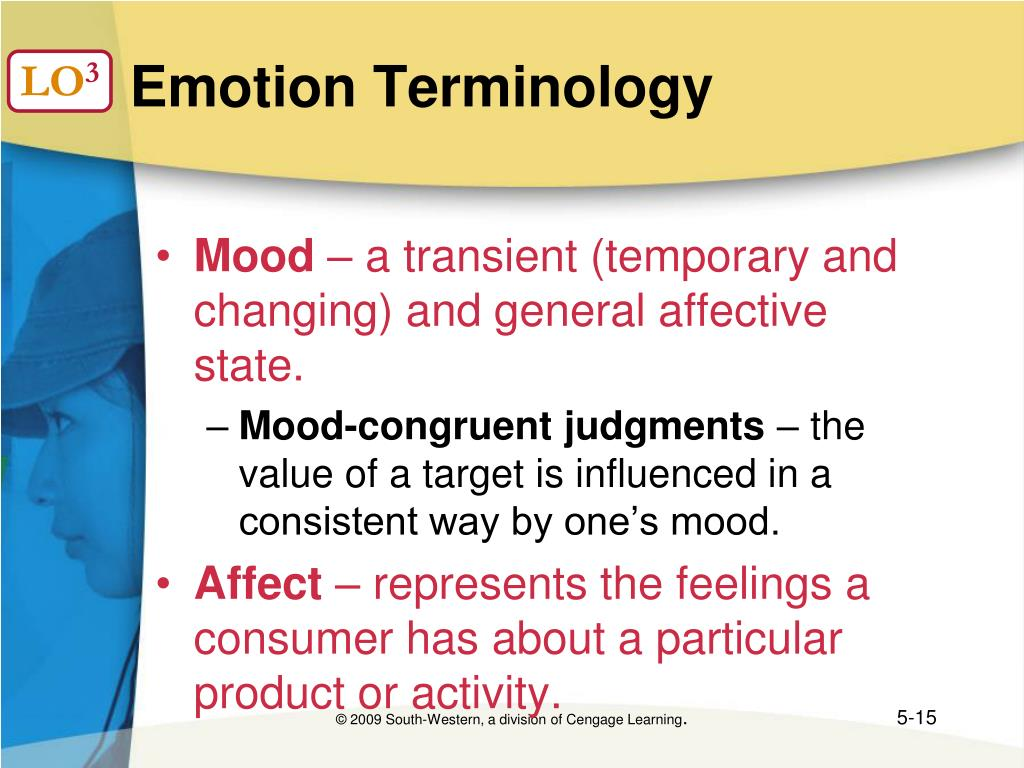 Emotion Terminology