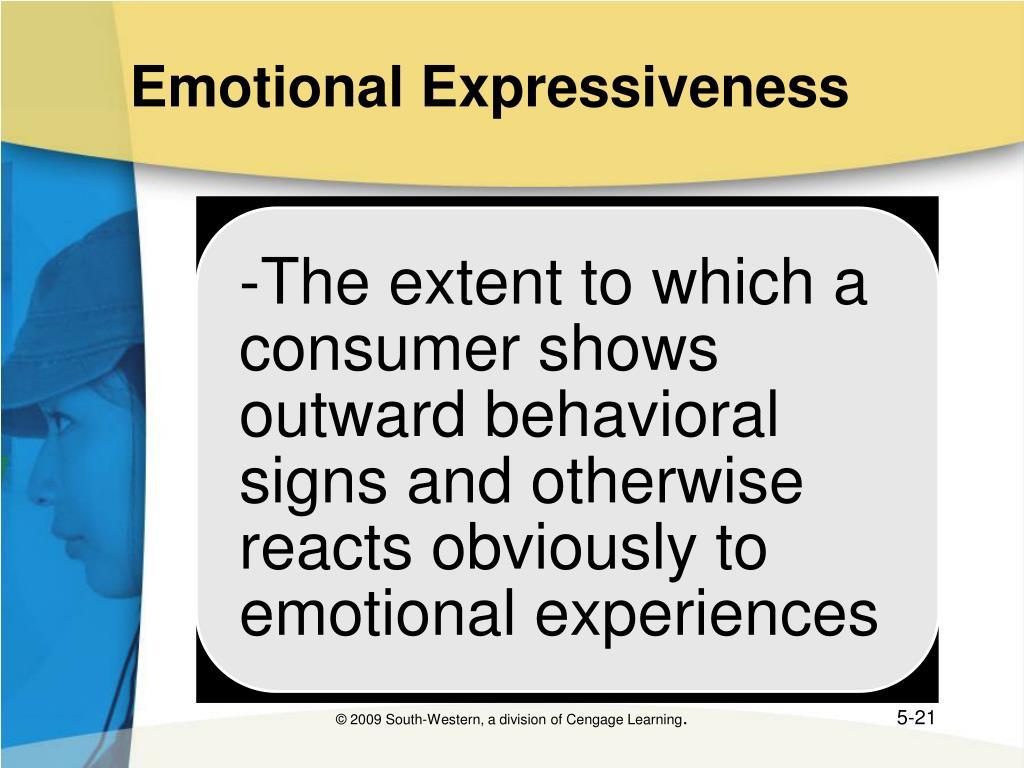 Emotional Expressiveness