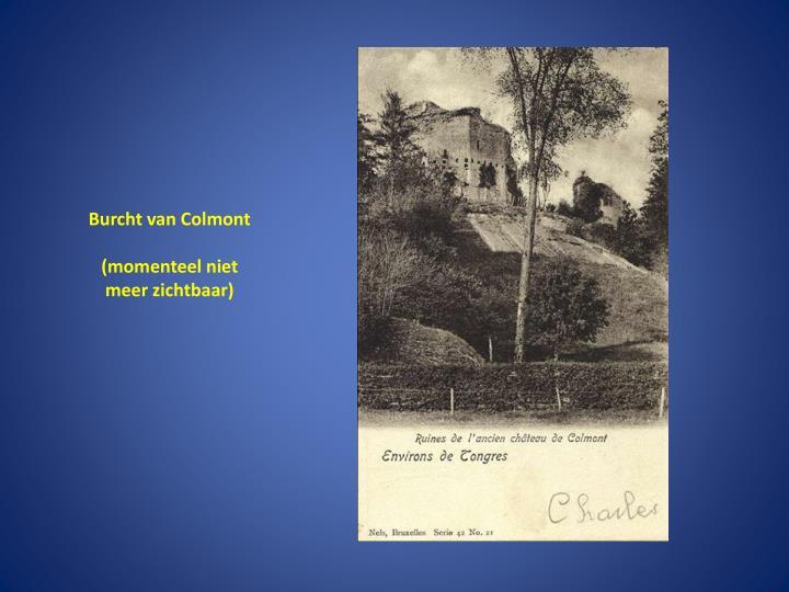 Burcht van Colmont