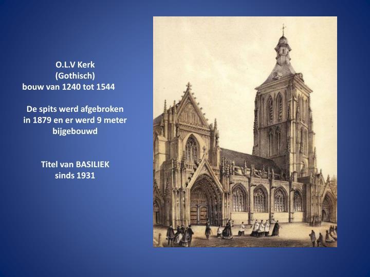 O.L.V Kerk