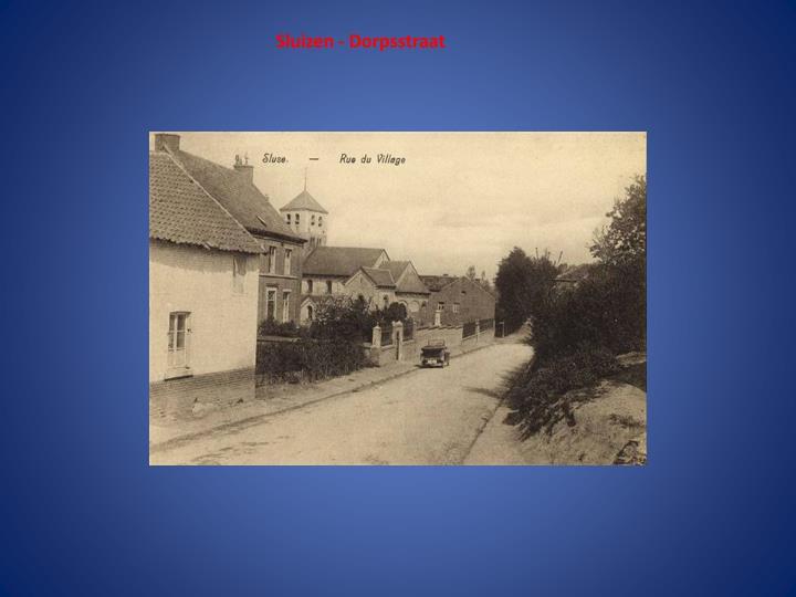Sluizen - Dorpsstraat