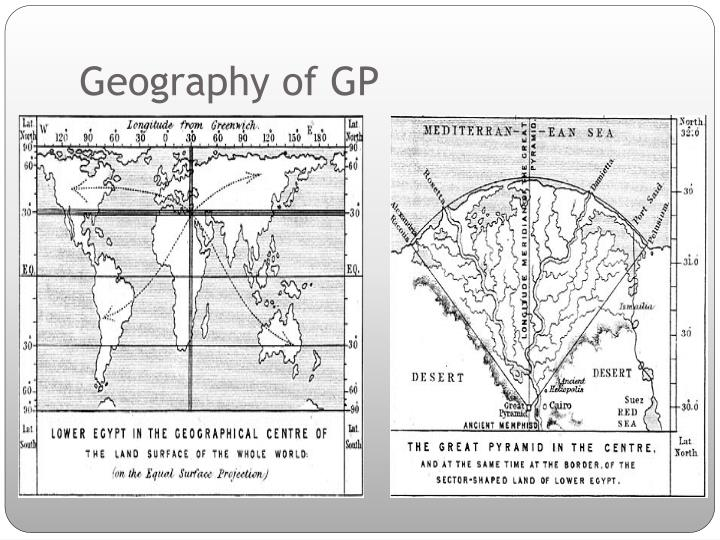 Geography of GP