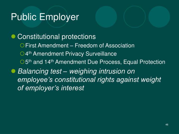Public Employer