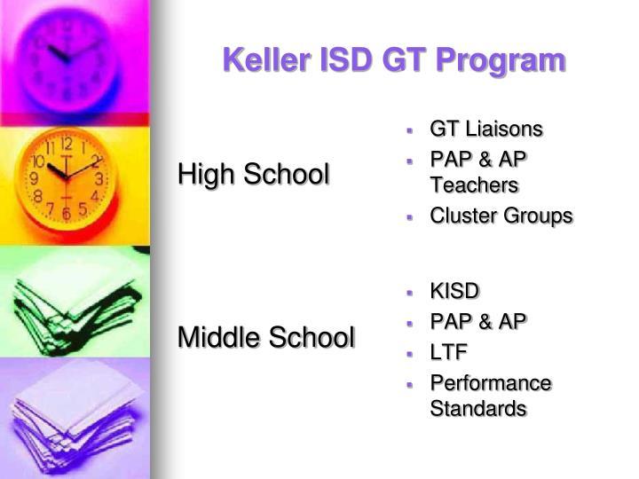 Keller ISD GT Program