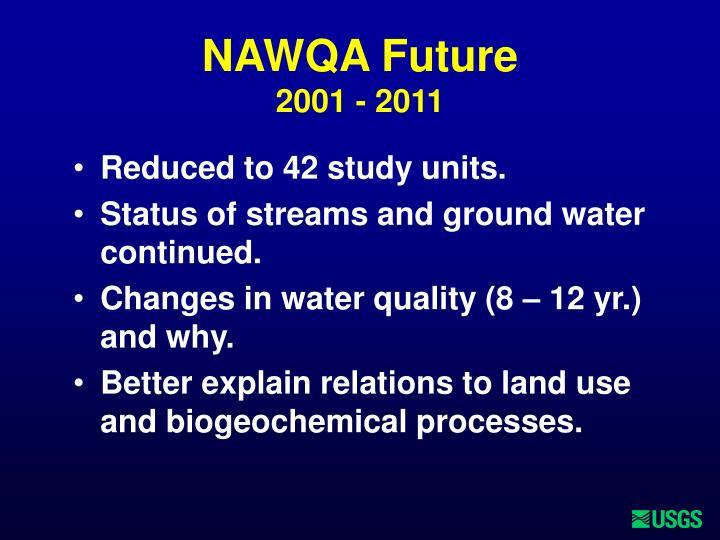 NAWQA Future