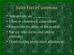 sales force composite