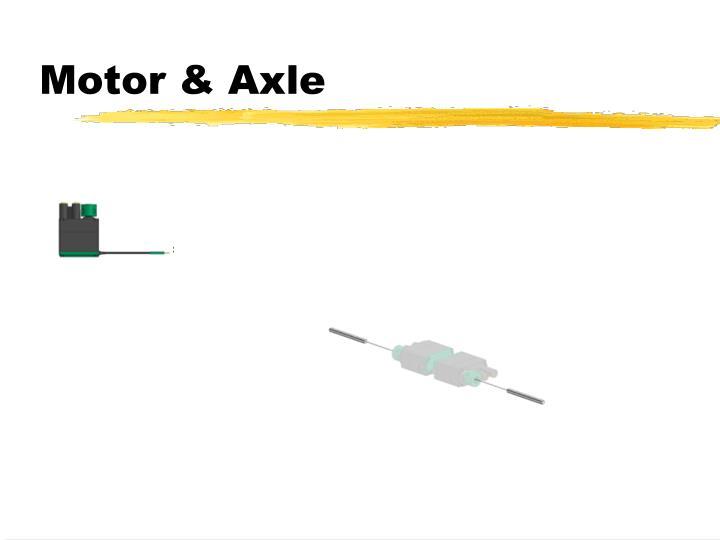 Motor & Axle