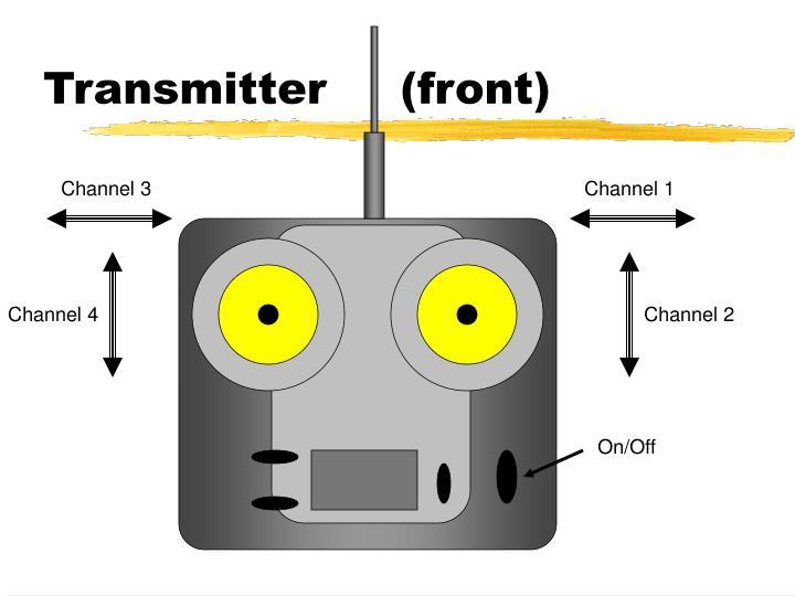 Transmitter     (front)