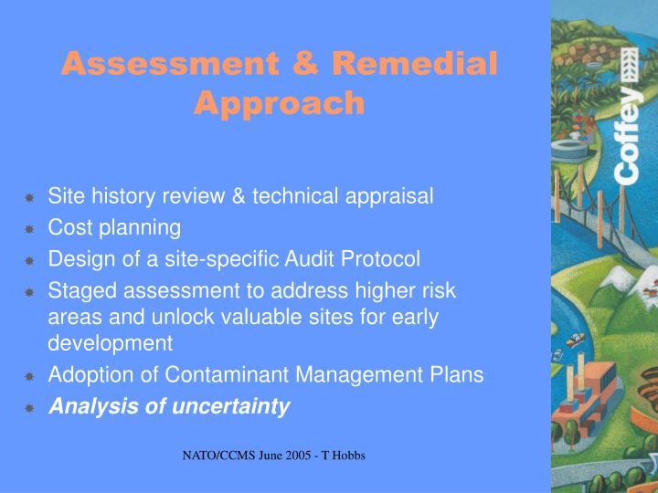 Assessment & Remedial Approach