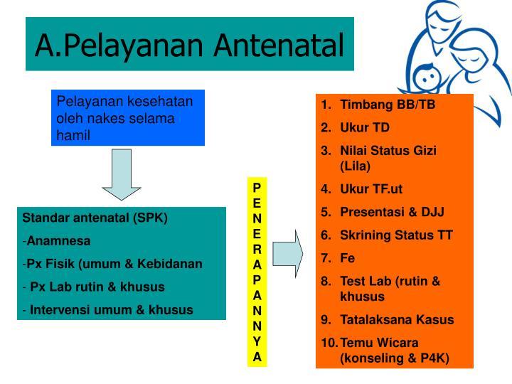 A.Pelayanan Antenatal