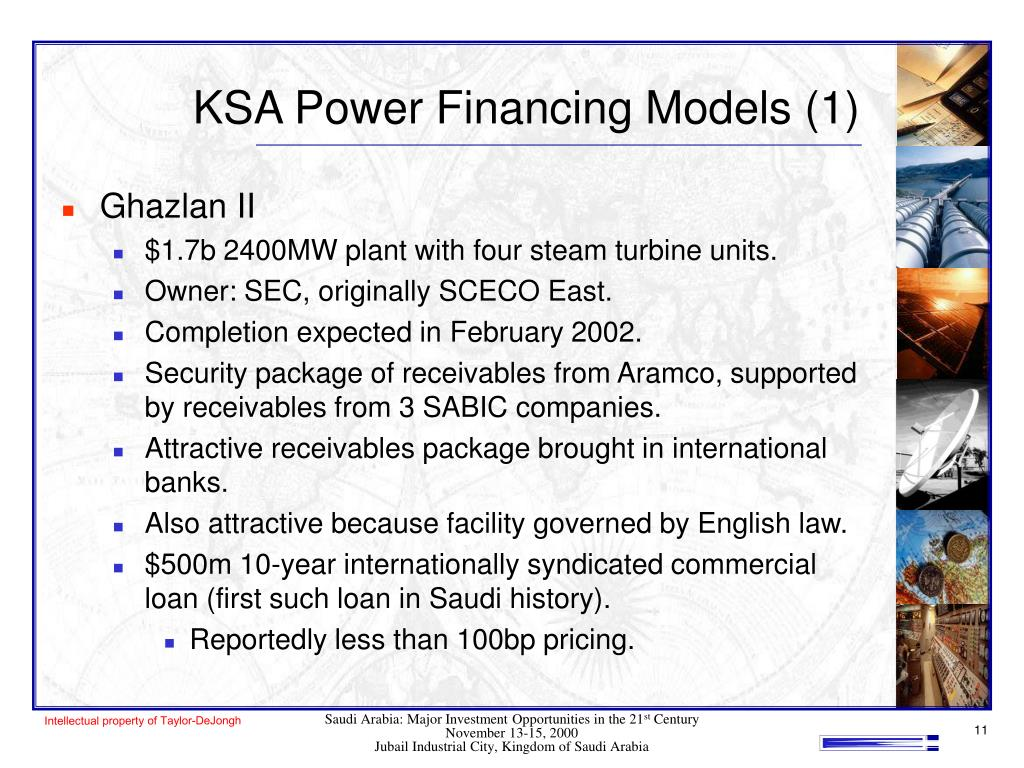 KSA Power Financing Models (1)