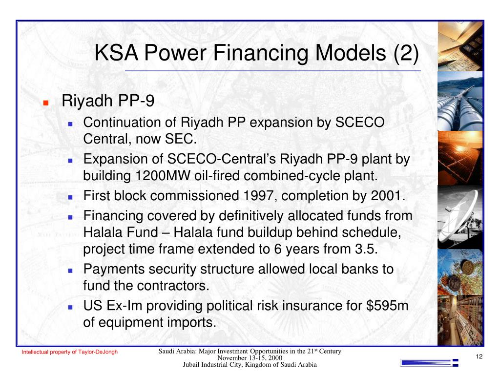 KSA Power Financing Models (2)
