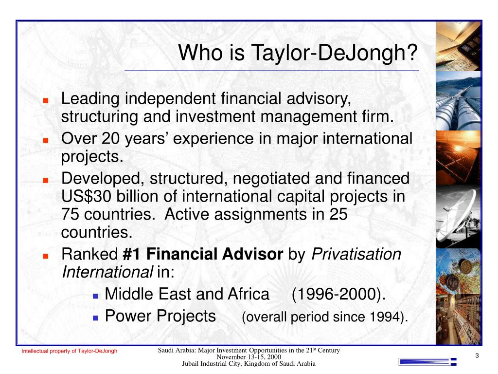 Who is Taylor-DeJongh?