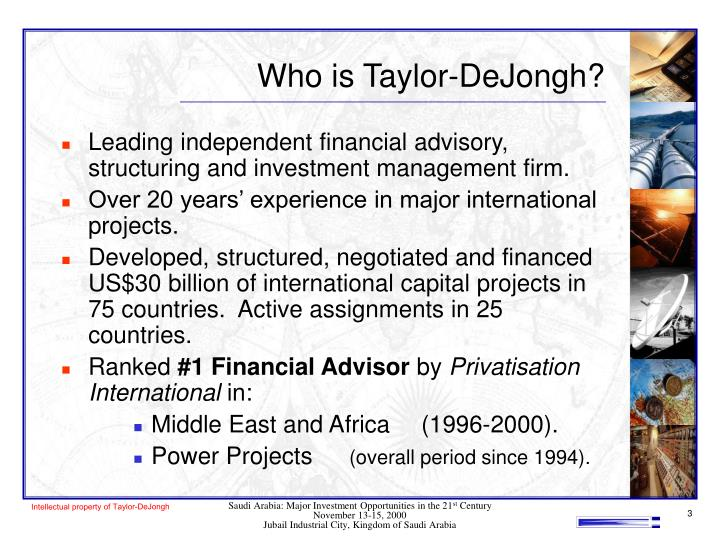 Who is taylor dejongh